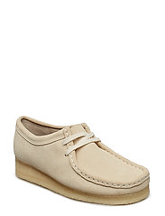 Wallabee. - OFF WHITE SUEDE