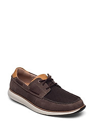 Un Pilot Lace - BROWN NUBUCK