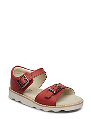 Crown Bloom T - CORAL LEATHER