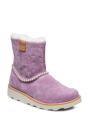 Crown Piper K - LILAC SUEDE