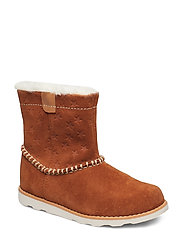 Crown Piper T - TAN SUEDE