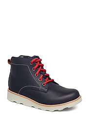 Crown Hike K - NAVY LEATHER