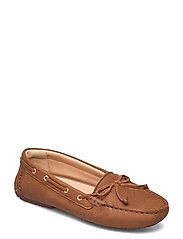 C Mocc Boat2 - TAN LEATHER