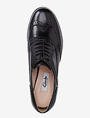 Clarks - Hamble Oak - buty sznurowane - black leather - 2