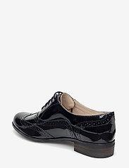 Clarks - Hamble Oak - schnürschuhe - black pat - 2