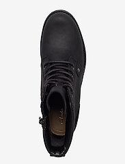 Clarks - Orinoco Spice - flate ankelstøvletter - black leather - 3