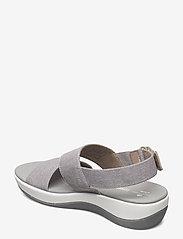 Clarks - Arla Jacory - platta sandaler - sand - 2