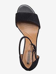 Clarks - Deva Mae - högklackade sandaler - black sde - 3
