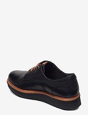 Clarks - Teadale Rhea - snörskor - black leather - 2