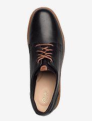 Clarks - Teadale Rhea - snörskor - black leather - 3