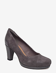 Clarks - Chorus Carol - klassiske pumps - dark grey combi - 0