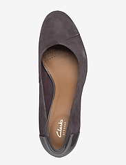 Clarks - Chorus Carol - klassiske pumps - dark grey combi - 3