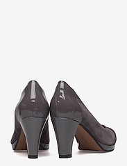 Clarks - Chorus Carol - klassiske pumps - dark grey combi - 4
