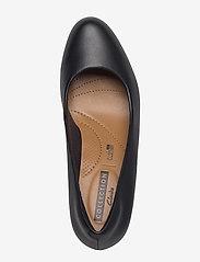 Clarks - Adriel Viola - klassiske pumps - black leather - 3