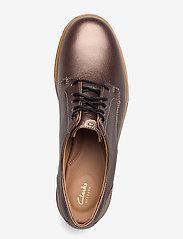 Clarks - Teadale Rhea - schnürschuhe - pewter leather - 3
