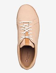 Clarks - Amberlee Rosa - lage sneakers - nude nubuck - 3