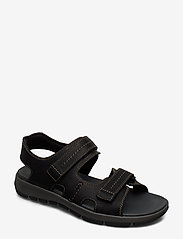 Clarks - Brixby Shore - sandaalit - black leather - 0
