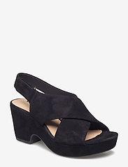 Clarks - Maritsa Lara - högklackade sandaler - black sde - 0