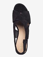 Clarks - Maritsa Lara - högklackade sandaler - black sde - 3