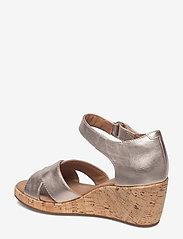 Clarks - Un Plaza Cross - sandales à talons - gold metallic - 2