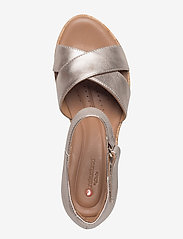 Clarks - Un Plaza Cross - sandales à talons - gold metallic - 3