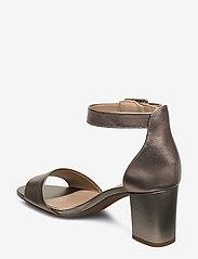 Clarks - Deva Mae - bröllopsskor - pewter leather - 2