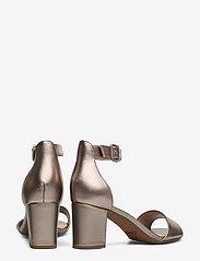 Clarks - Deva Mae - bröllopsskor - pewter leather - 4