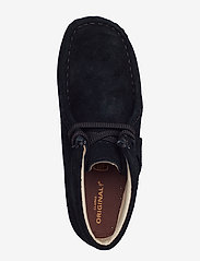 Clarks - Wallabee Bt.. - talvikengät - black sde - 3