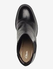 Clarks - Mascarpone Bay - black leather - 3