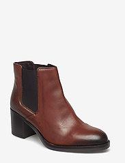Clarks - Mascarpone Bay - ankelstøvler med hæl - tan leather - 0