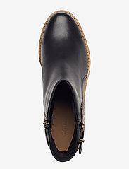 Clarks - Clarkdale Jax - ankelstøvler med hæl - black leather - 3