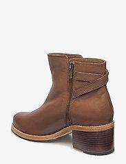 Clarks - Clarkdale Jax - ankelstøvler med hæl - dark tan lea - 2