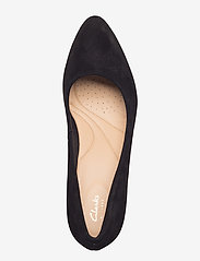 Clarks - Calla Rose - klassiska pumps - black sde - 3