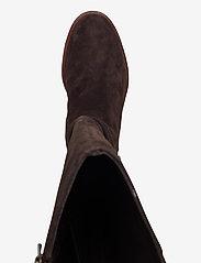 Clarks - Clarkdale Clad - lange laarzen - dark brown suede - 3