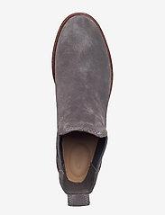 Clarks - Clarkdale Arlo - chelsea boots - grey suede - 3