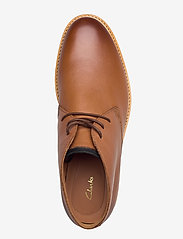 Clarks - Atticus Limit - desert boots - tan leather - 3