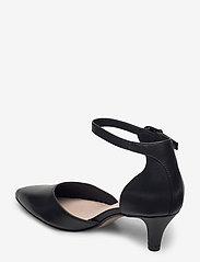 Clarks - Linvale Edyth - klassiska pumps - black leather - 2