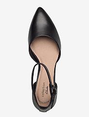 Clarks - Linvale Edyth - klassiska pumps - black leather - 3