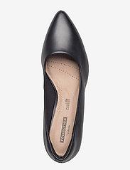 Clarks - Linvale Jerica - klassieke pumps - black leather - 3