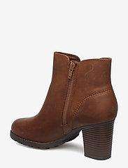 Clarks - Verona Trish - ankelstøvler med hæl - dark tan lea - 2