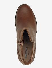 Clarks - Verona Trish - ankelstøvler med hæl - dark tan lea - 3