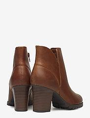Clarks - Verona Trish - ankelstøvler med hæl - dark tan lea - 4