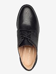 Clarks - Netley Rose - schnürschuhe - black leather - 3