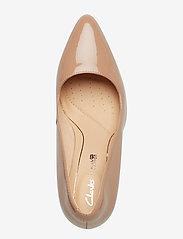Clarks - Laina Rae - escarpins classiques - nude patent - 3