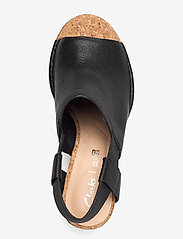 Clarks - Spiced Bay - espadrilles met sleehak - black leather - 3