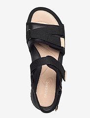 Clarks - Tri Walk - platta sandaler - black combi - 3