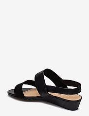 Clarks - Sense Lily - platta sandaler - black combi - 2