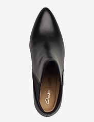Clarks - Laina Violet - ankelstøvler med hæl - black leather - 3