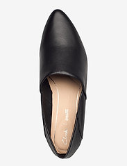 Clarks - Sense May - loafers - black leather - 3