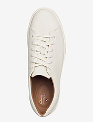 Clarks - Un Costa Lace - matalavartiset tennarit - white leather - 3